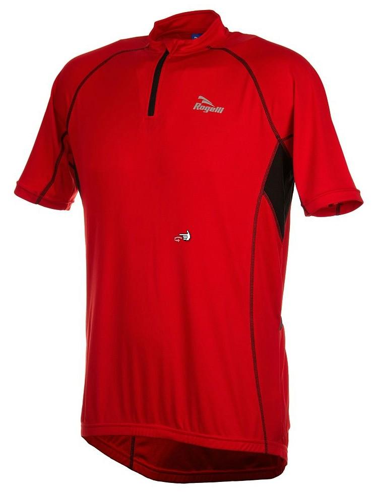 Koszulka Rogelli Perugia czerwona
