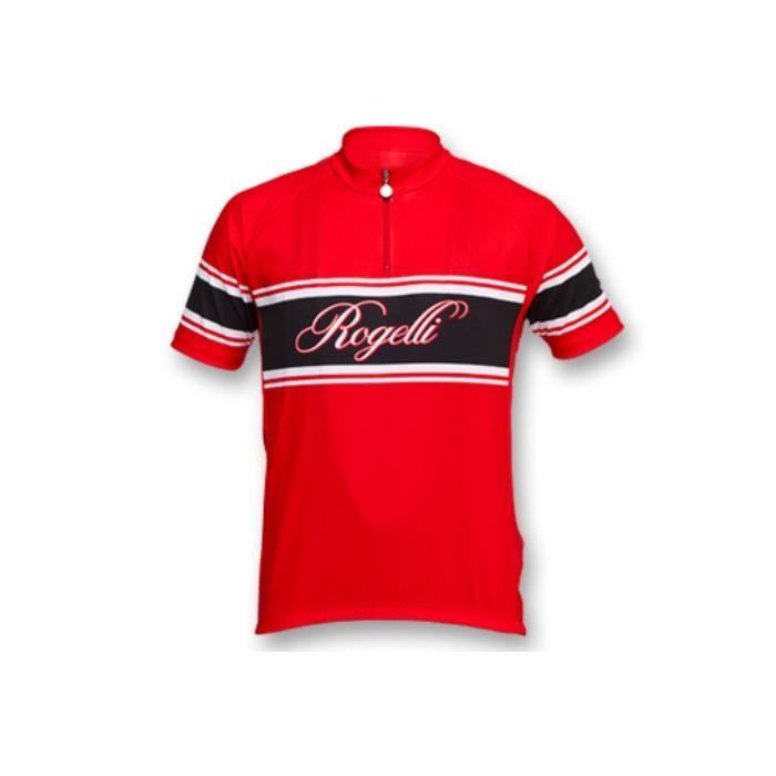Koszulka Rogelli Retro czerwona
