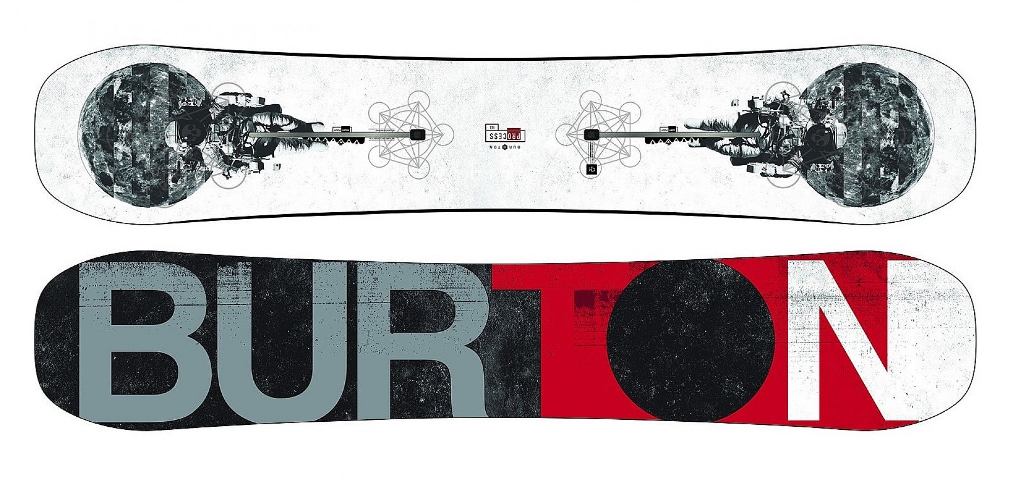 Snowboard Burton Process Off-Axis 2ND No Color 2018