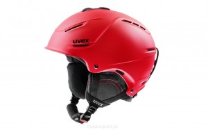 Kask Uvex P1us 2.0 Red