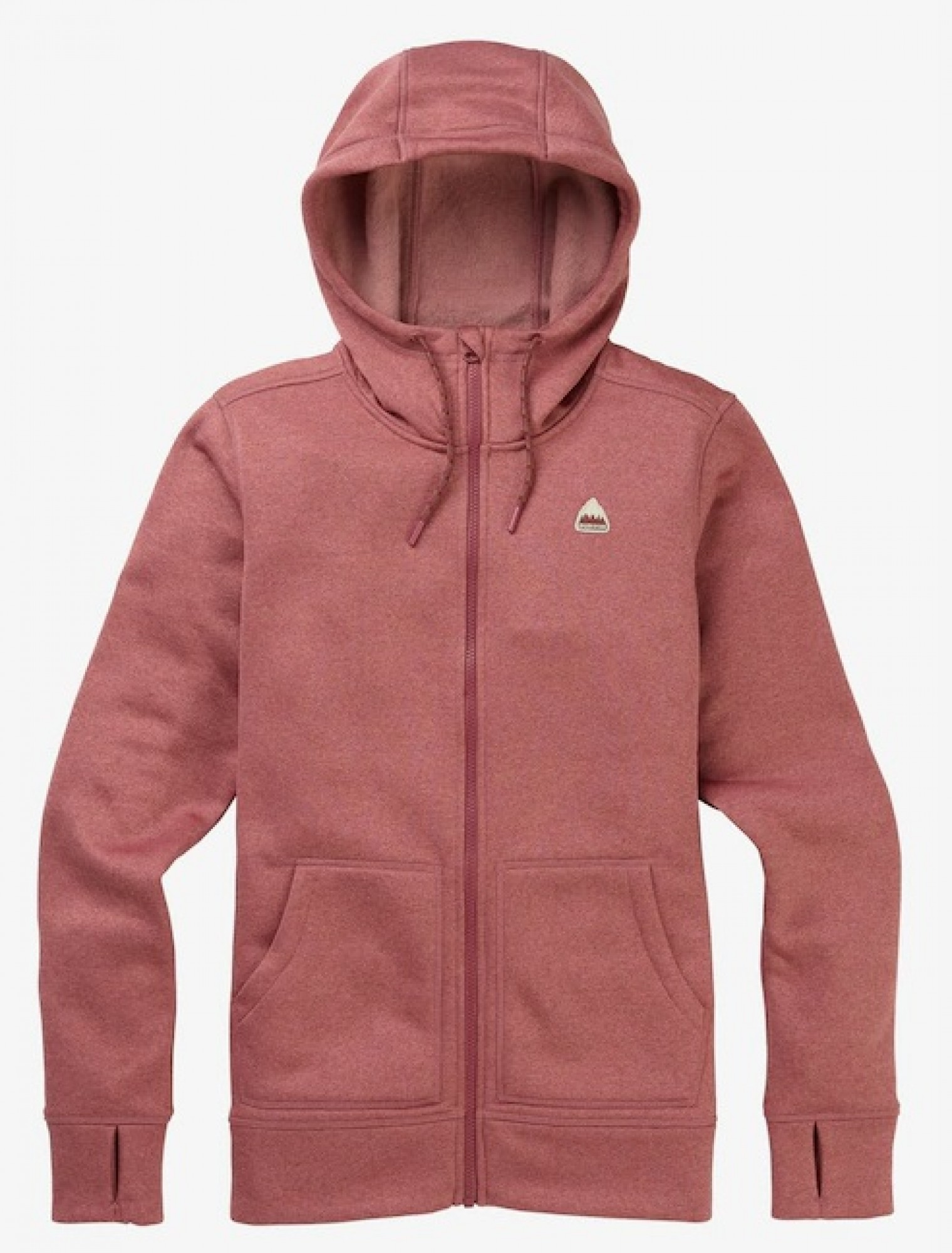Bluza Damska Burton Oak Full-Zip Hoodie Rose Brown Heather