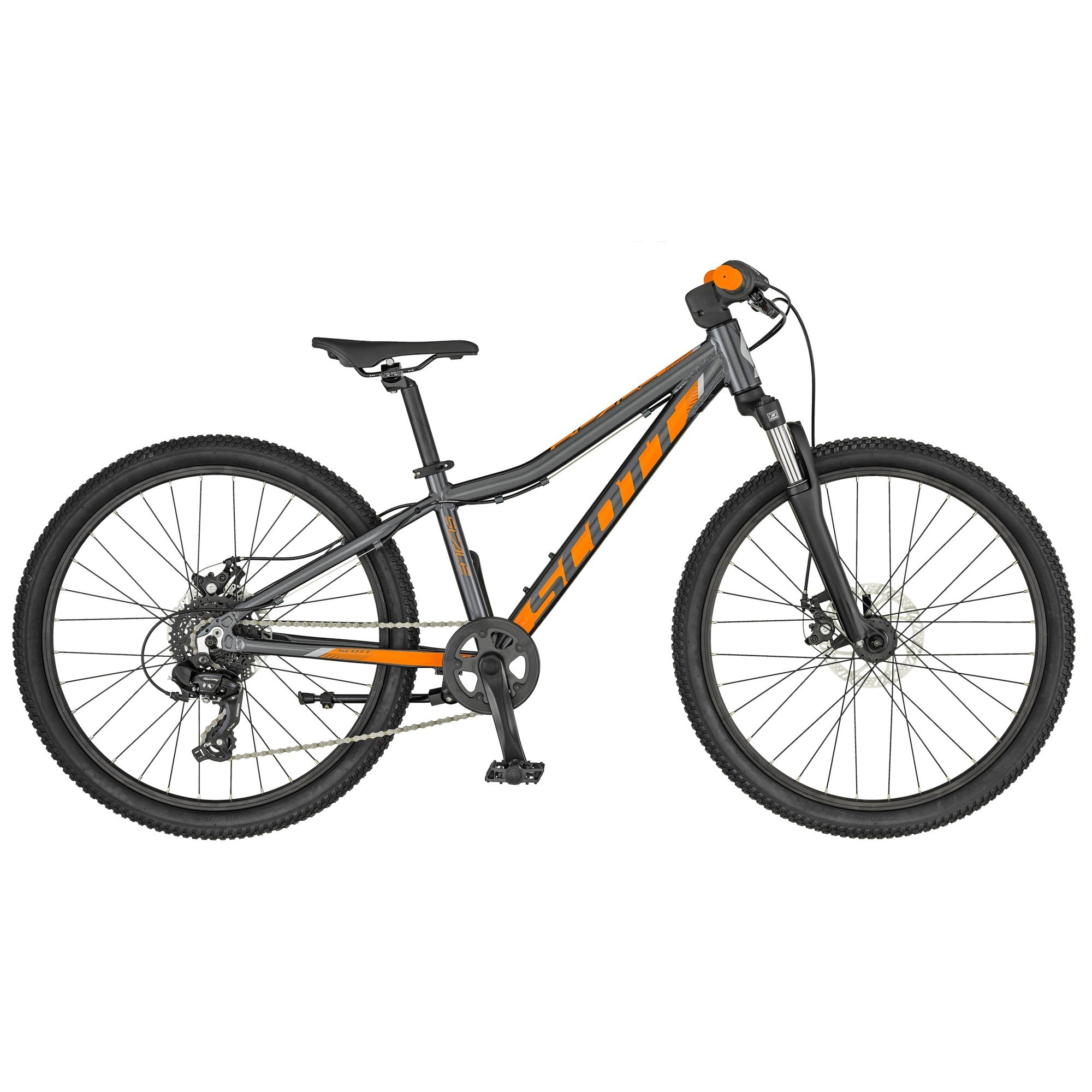 Rower Scott Scale 24 Disc Anthracite Orange 2019